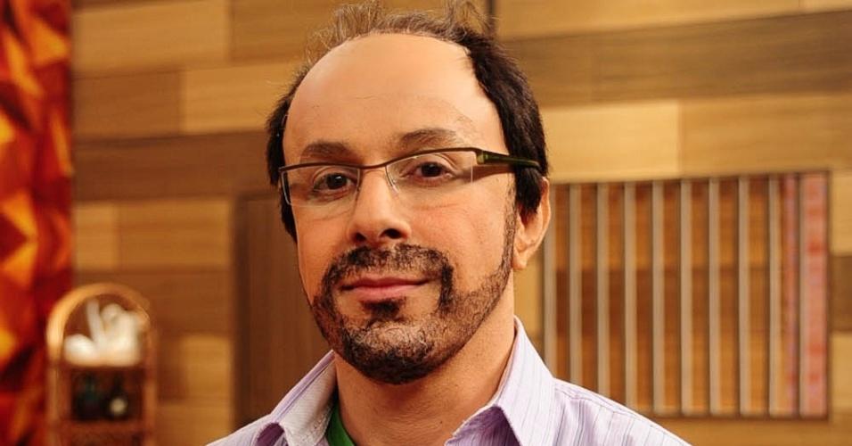 Tom Cavalcante durante gravação de