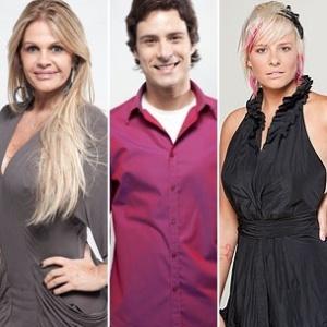Monique Evans, Sergio Abreu e Luiza Gottschalk estão na 1ª Roça de