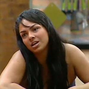 Mulher Melancia conversa com Piu-Piu e Janaina na sala da sede (28/10/2010)