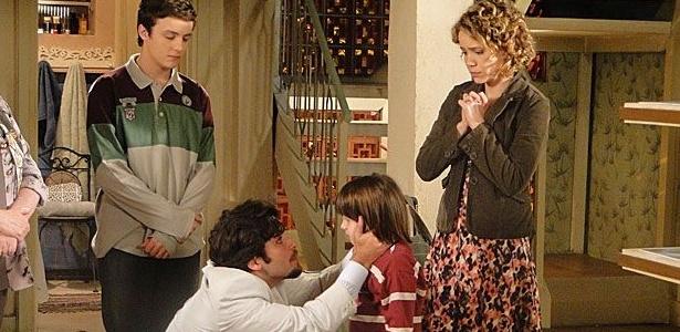 Agostina (Leandra Leal) e Berilo (Bruno Gagliasso) voltam juntos para a Itália em