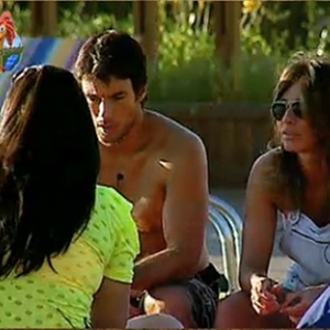 Andressa Soares, Daniel Bueno e Lizzi Benites falam mal de Janaina Jacobina (2/11/10)