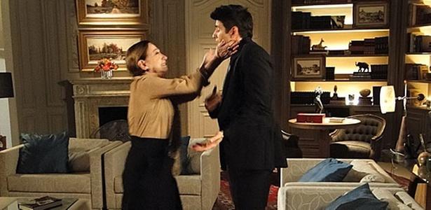 Fernanda Montenegro e Reynaldo Gianecchini em cena de