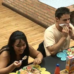Mulher Melancia e Sergio Abreu se divertem durante almoço (06/11/10)