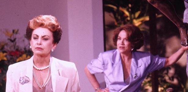 Odete Roitman (Beatriz Segall) chega à novela Vale Tudo para estragar a vida de sua irmã Celina (Nathalia Timberg) e de todos os outros personagens.
