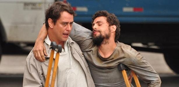 Marcello Antony e Cauã Reymond gravam cenas de