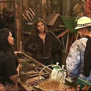 Melancia, Carol e Dudu conversam sobre a Roça na oficina (11/11/10)