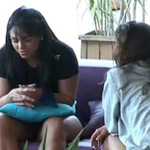 Melancia e Carol falam sobre o jogo (13/11/10)