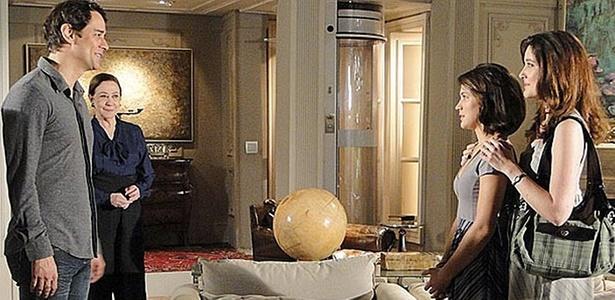 Fátima (Bianca Bin) reencontra Gerson (Marcello Antony) em cena de