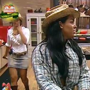 Ana Carolina e Mulher Melancia são