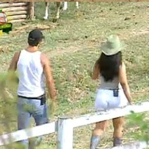 Daniel e Melancia conversam sobre o jogo (22/11/10)
