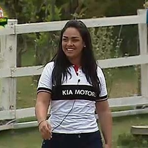 Mulher Melancia se prepara para disputar carro 0km (24/11/10)