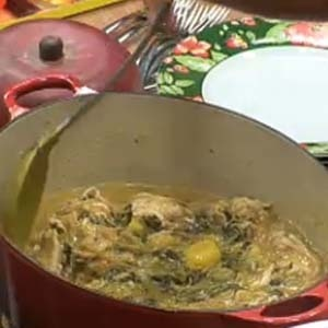 Frango com agrião e batata é elogiado pelos peões (25/11/10)