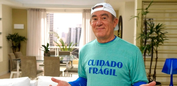 Renato Aragão grava