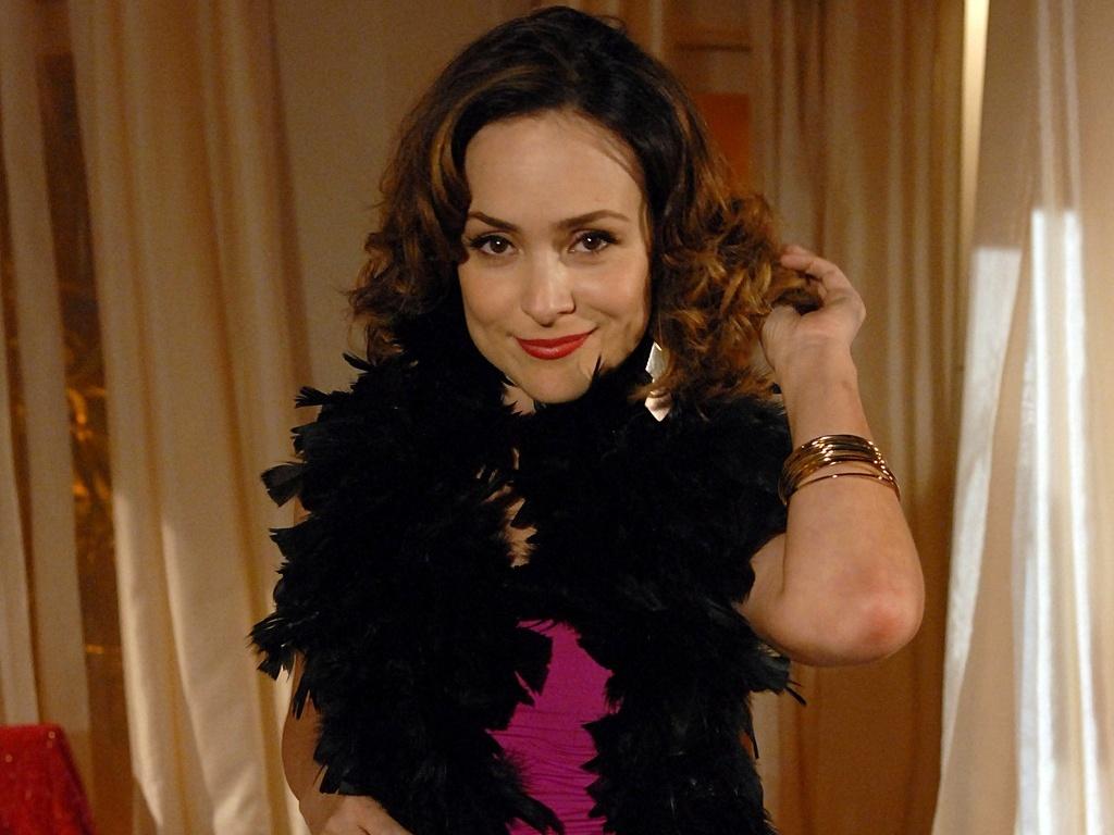 A atriz Gabriela Duarte como a Jéssica de