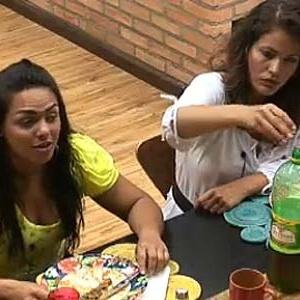 Melancia e Ana Carolina almoçam na tarde deste sábado (27/11/10)