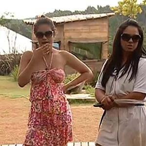 Ana Carolina e Melancia falam mal de Janaina (29/11/10)
