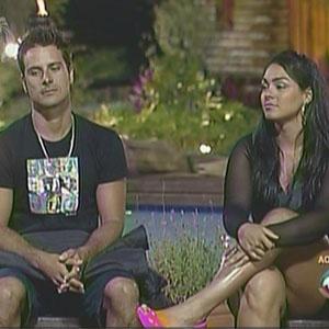 Sergio Abreu e Andressa Soares se enfrentam na Roça (01/12/2010)