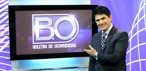 César Filho, apresentador do programa policial do SBT Boletim de Ocorrências