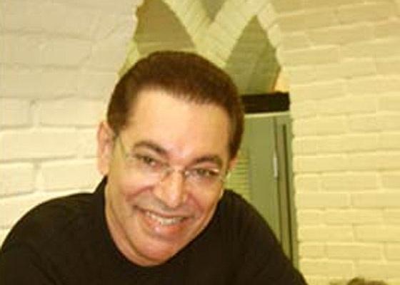 O cabeleireiro Jassa e seu melhor cliente e amigo, o apresentador Silvio Santos