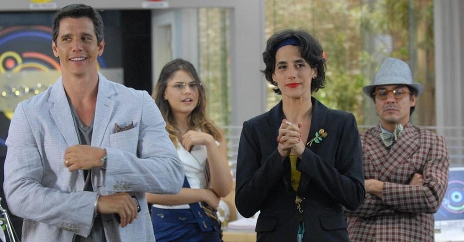 Márcio Garcia, Jéssika Alves, Mariana Lima e André Gonçalves em cena do especial