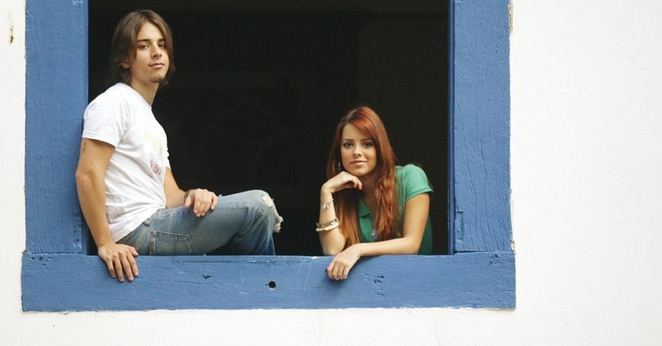 Sandy e Júnior no Parque Ecológico, em Campinas, São Paulo (10.04.2006)