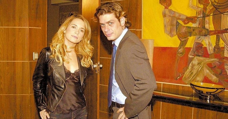 Claudia Abreu e Fábio Assunção em
