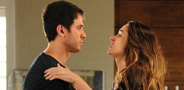Eriberto Leão e Fernanda Machado em cena de