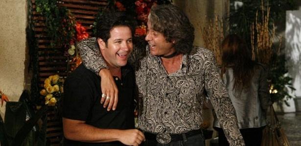 Murilo Benício e Alexandre Borges em cena de