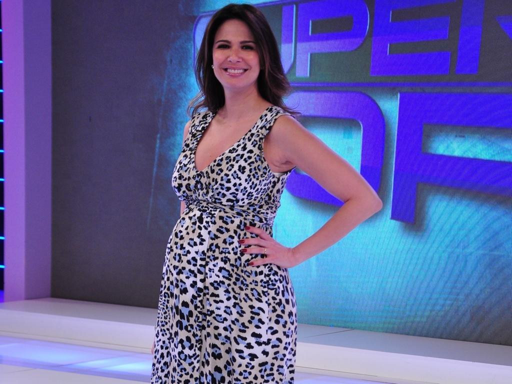 A apresentadora Luciana Gimenez (24/1/2011)