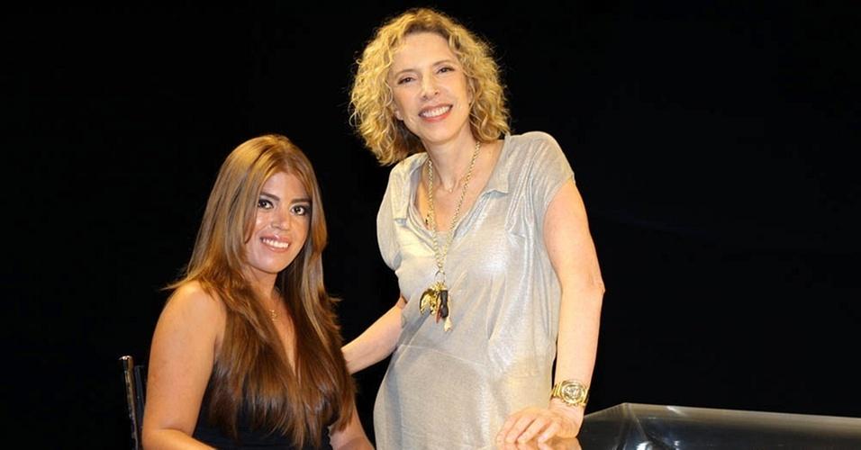 Raquel Pacheco é a entrevistada de Marília Gabriela no