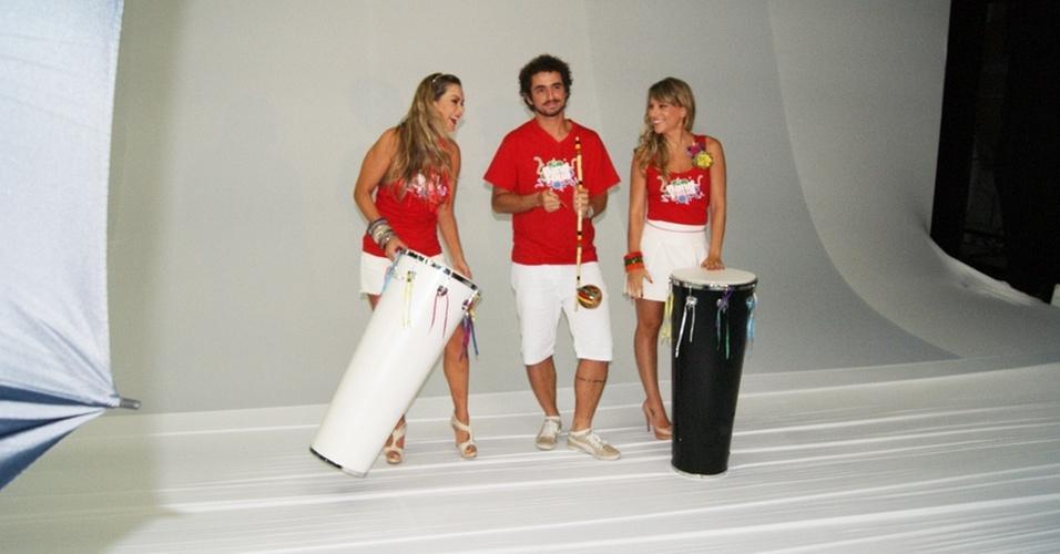 Felipe Andreolli E Daniela Freitas Que Cobrir O Carnaval Da Band
