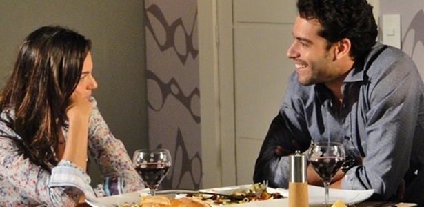 Isis Valverde e Guilherme Winter em cena de 