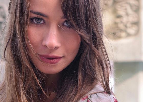 A atriz Fl�via Rubin (24/2/2011)