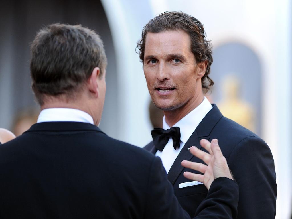 O ator Matthew McConaughey (27/2/2011)