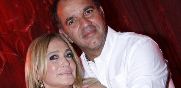 Susana Vieira e Humberto Martins no lançamento de