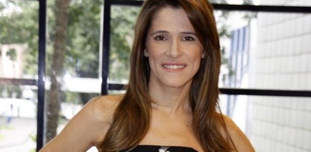 Ingrid Guimarães no lançamento da série