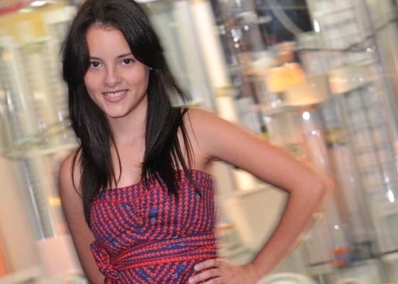 A atriz Adelaide Castro (25/3/2011)