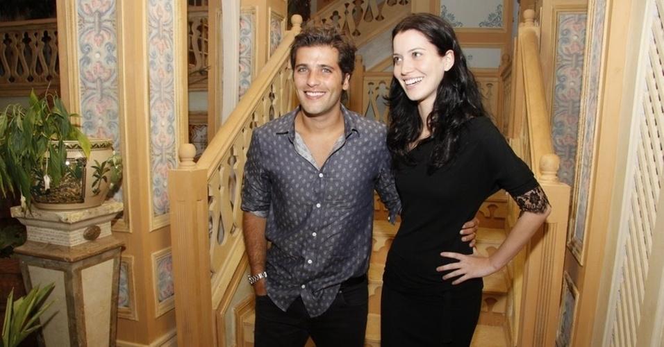 Bruno Gagliasso e Nathalia Dill na apresentação de