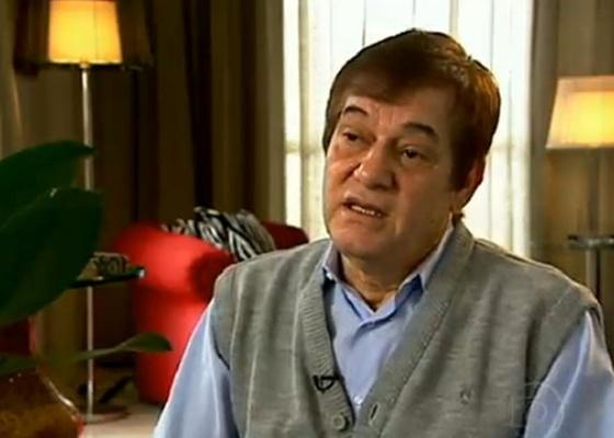 Eriberto Monteiro, pai de Eriberto Leão, morreu na manhã desta terça-feira em SP (12/4/11)