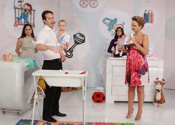 Eliana recebe pediatra no quadro