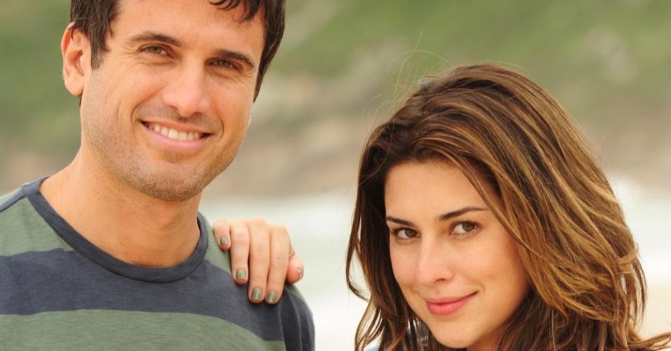 Eriberto Leão e Fernanda Paes Leme em cena de