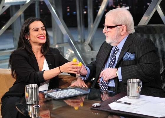 Cleo Pires é entrevistada por Jô Soares no Programa do Jô (13/5/11)