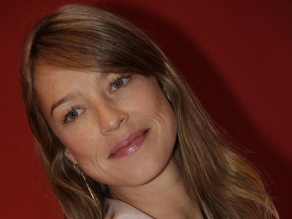 Luana Piovani no lançamento do seriado