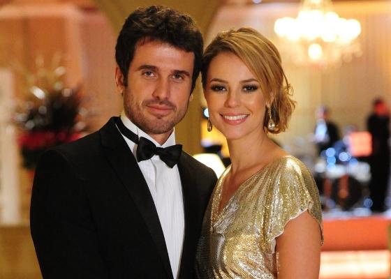 Eriberto Leão e Paola Oliveira em cena de Insensato Coração (março/2011)