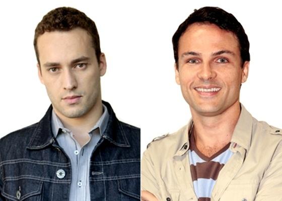 Rodrigo Andrade e Marco Damigo, intérpretes de Eduardo e Hugo em Insensato Coração