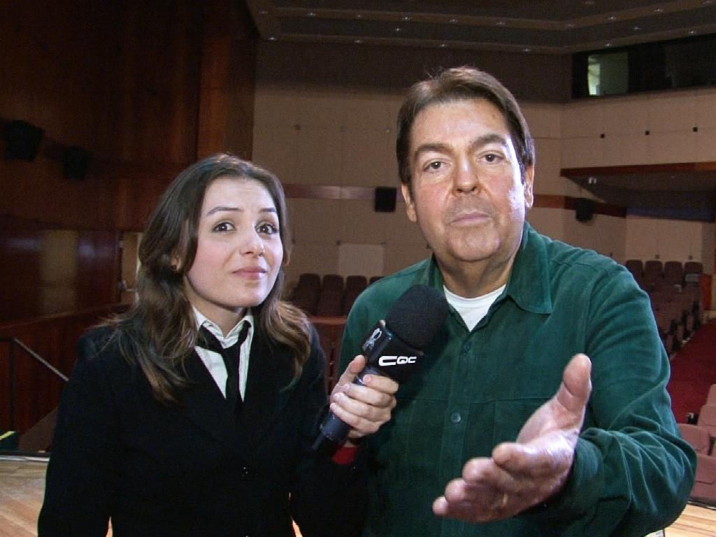 Mônica Iozzi entrevista Faustão no