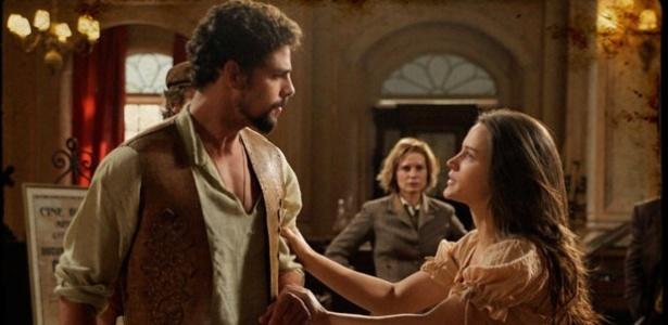 Açucena e Jesuíno brigam por causa de Herculano - Cordel Encantado