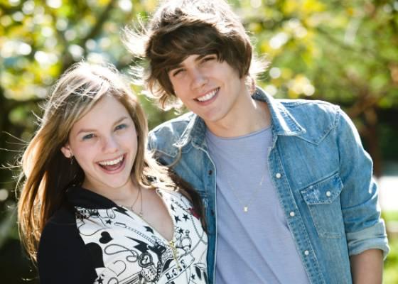 Emilio Eric e Let�cia Navas, novos apresentadores da TV Globinho (julho/2011)