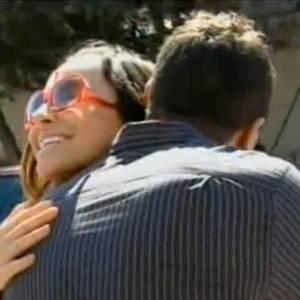 Sabrina Sato e Dhomini se encontram após oito anos na gravação do quadro