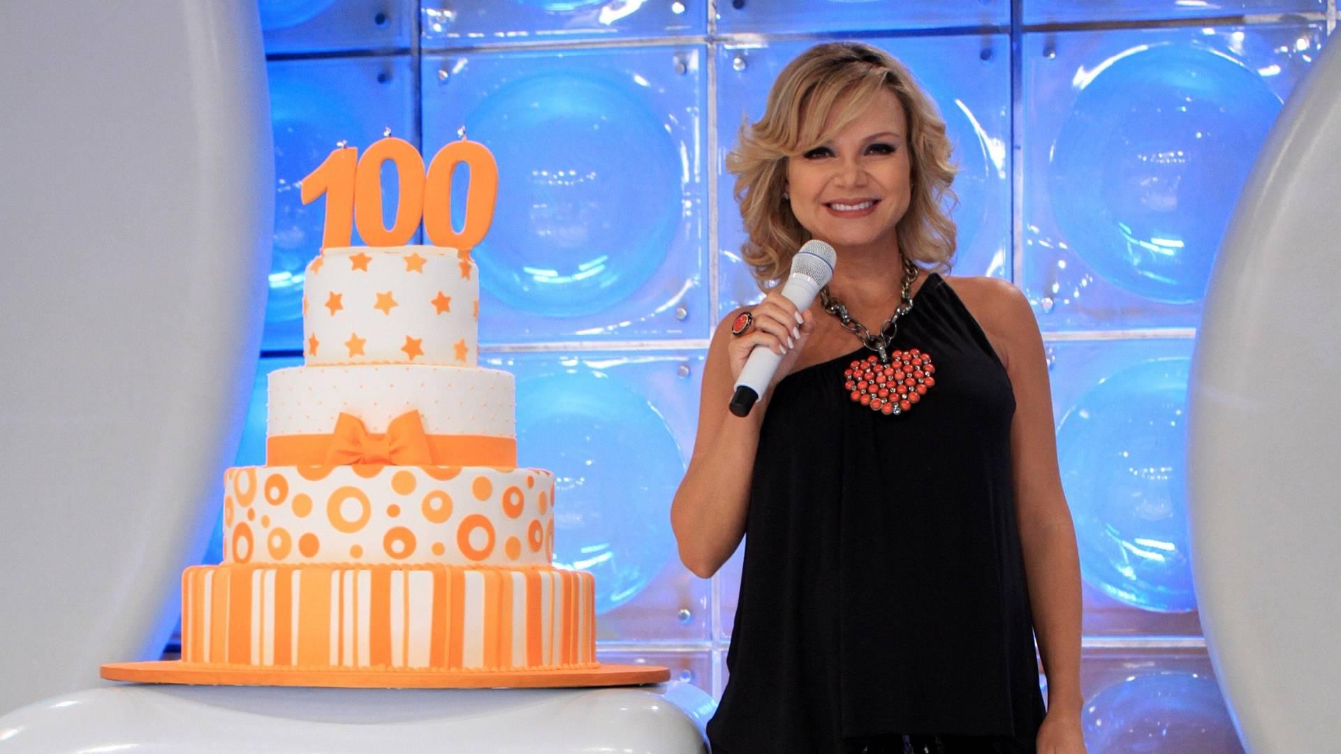 Eliana comemora centésimo no SBT (24/7/2011)